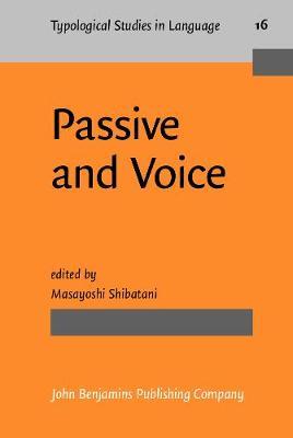 Passive and Voice by Masayoshi Shibatani