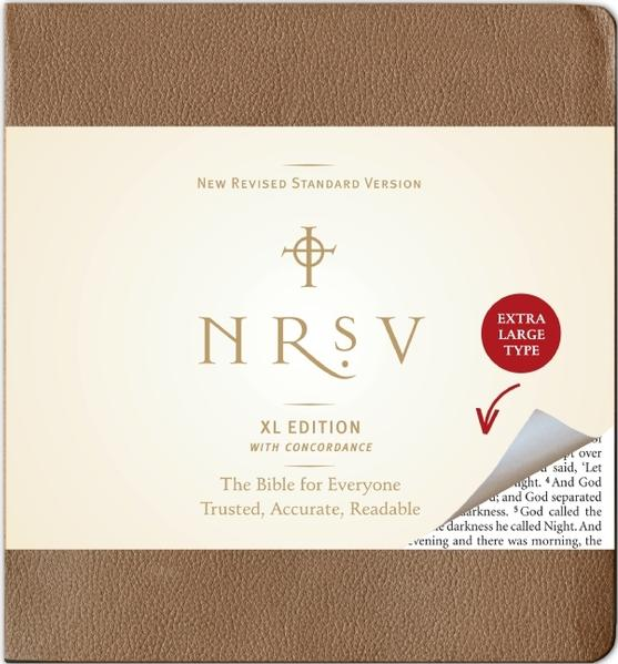 NRSV XL Bible with Concordance No Apocrypha (Brown) by Zondervan