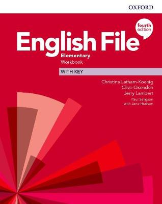 English File: Elementary: Workbook with Key book