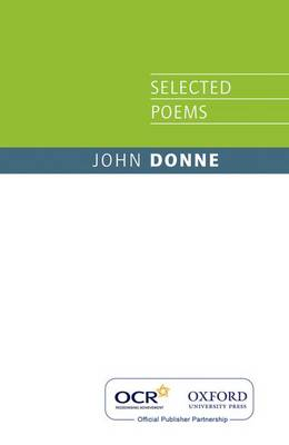 OCR John Donne Selected Poems book