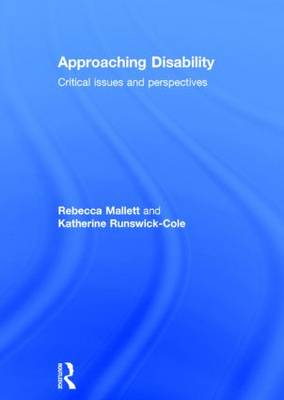 Approaching Disability book