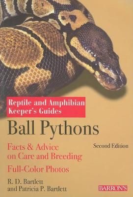 Ball Python Keepers Guide book