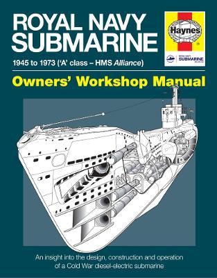 Royal Navy Submarine Manual: 1945 Onward by Peter Goodwin