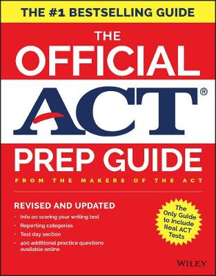 The Official ACT Prep Guide, 2018 by ACT