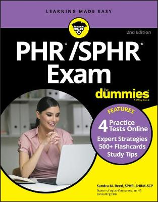 PHR/SPHR Exam For Dummies with Online Practice book