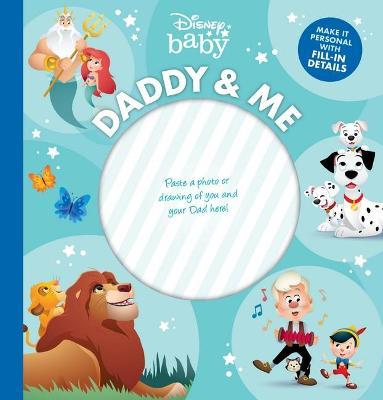 Daddy and Me Keepsake Disney book