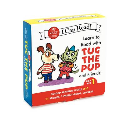 Learn to Read with Tug the Pup and Friends! Box Set 1 by Dr. Julie M. Wood