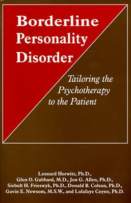 Borderline Personality Disorder by Leonard Horwitz