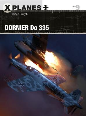 Dornier Do 335 by Robert Forsyth
