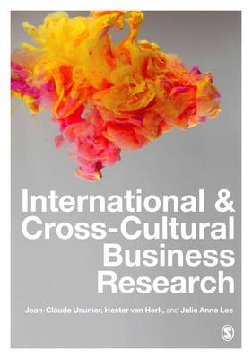 International and Cross-Cultural Business Research by Julie Lee