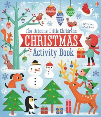Little Children's Christmas Activity Book by James Maclaine