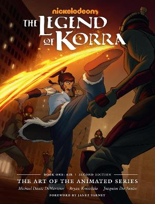 Legend Of Korra, The: The Art Of The Animated Series Book One: Air (second Edition) by Michael Dante Dimartino