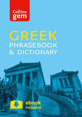 Collins Greek Phrasebook and Dictionary Gem Edition book