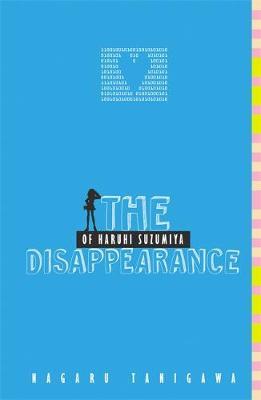 Disappearance of Haruhi Suzumiya (light novel) book