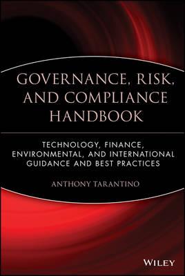 Governance, Risk, and Compliance Handbook book