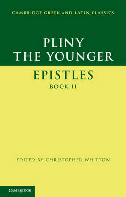 Pliny the Younger: 'Epistles' Book II book