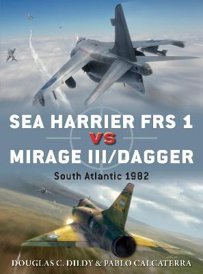 Sea Harrier FRS 1 vs Mirage III/Dagger by Douglas C. Dildy