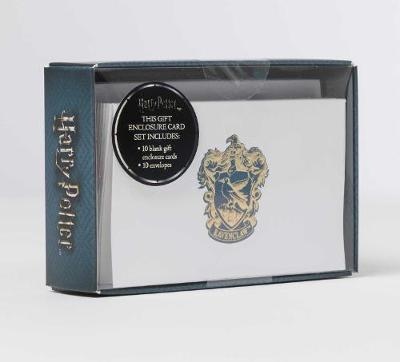 Harry Potter: Ravenclaw Foil Gift Enclosure Cards (Set Of 10 by Insight Editions