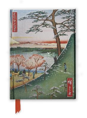 Hiroshige: Meguro (Foiled Journal) by Flame Tree Studio