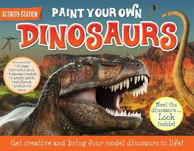 Paint Your Own Dinosaurs book