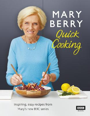 Mary Berry's Quick Cooking book