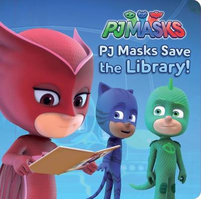Pj Masks Storyboard Save the Library by