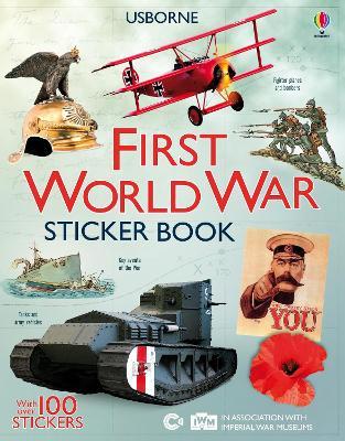 First World War Sticker Book by Struan Reid