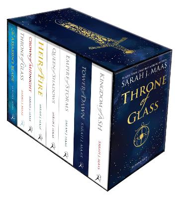 Throne of Glass : Paperback Box Set by Sarah J. Maas