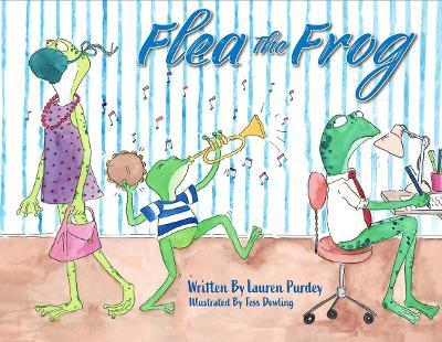 Flea the Frog book