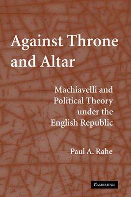 Against Throne and Altar book
