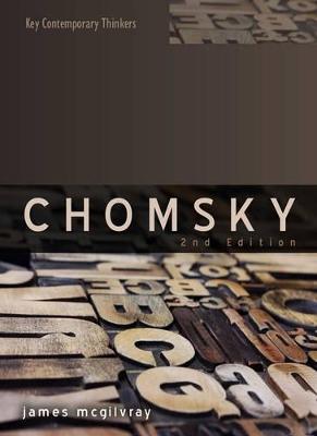 Chomsky by James McGilvray