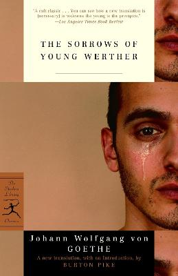Sorrows Of Young Werther book