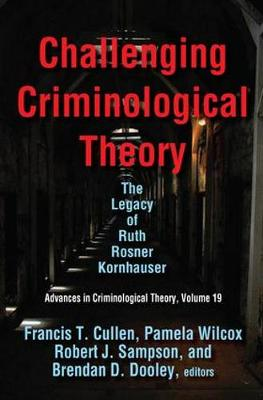 Challenging Criminological Theory book