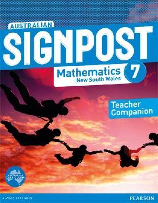 Australian Signpost Mathematics New South Wales  7 Teacher Companion book