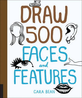 Draw 500 Faces and Features book