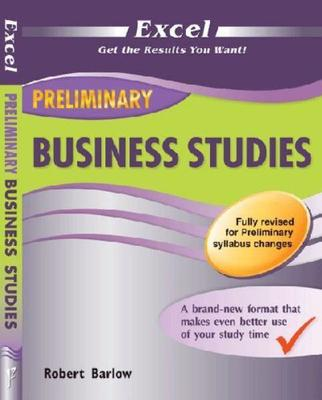 Excel Year 11 Preliminary Business Studies book