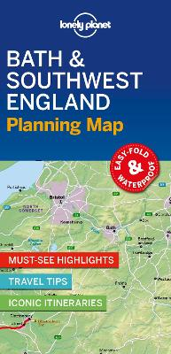 Lonely Planet Bath & Southwest England Planning Map by Lonely Planet