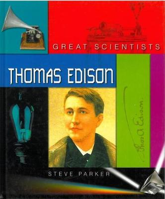 GREAT SCIENTISTS EDISON by Steve Parker
