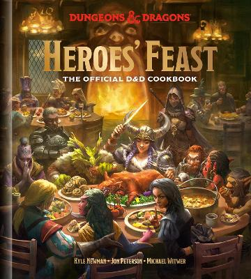 Dungeons and Dragons Cookbook by Kyle Newman