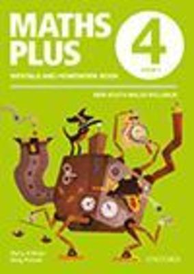 Maths Plus NSW Aus Curriculum Ed Mentals & Homework Book 4 Revised Ed 2016 by Harry O'Brien