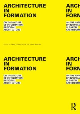 Architecture in Formation book