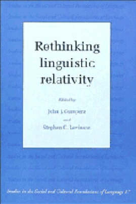 Rethinking Linguistic Relativity book
