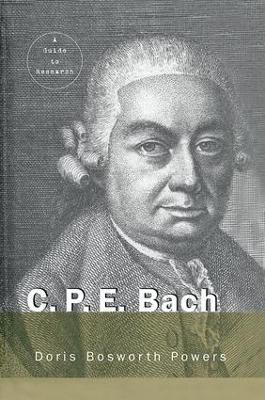 C.P.E. Bach book