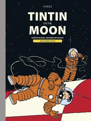 Tintin Moon Bindup by Herge