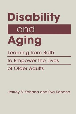 Disability and Aging book