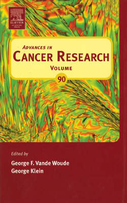 Advances in Cancer Research book
