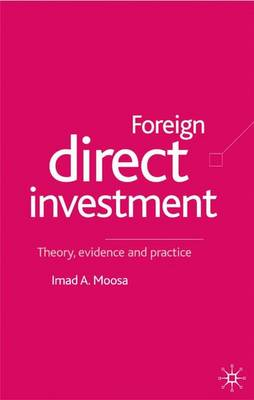 Foreign Direct Investment by I. Moosa