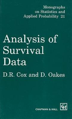 Analysis of Survival Data by D.R. Cox