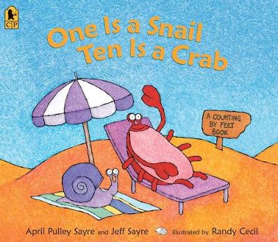 One Is A Snail, Ten Is A Crab Big Book (Big Book) by Pulley Sayre A