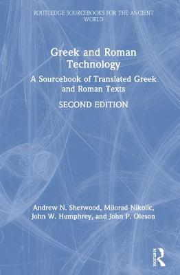 Greek and Roman Technology: A Sourcebook book